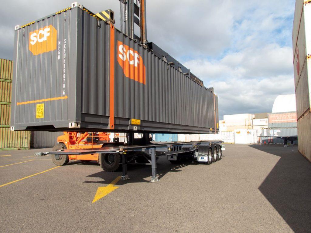 SCF's container range